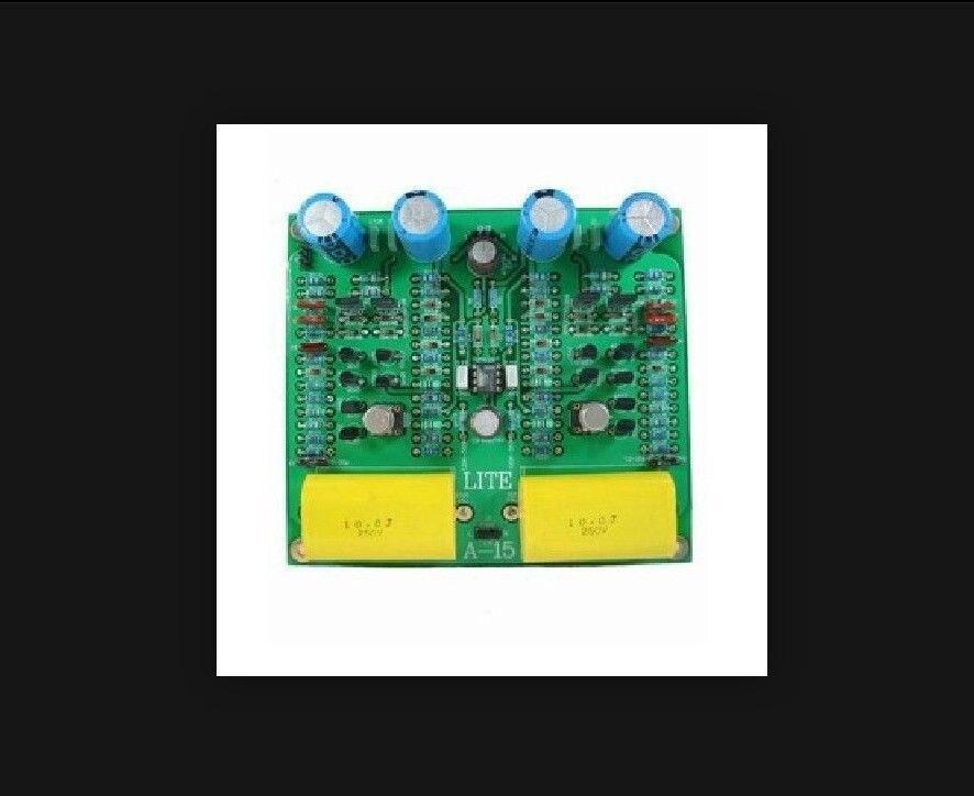 LITE A15 Preamplifier Board DIY Kit Ref To Mark Levinson Circuit LM394 preamplifier board 2x opa604ap 2x opa2604ap finished board dc 15v circuit
