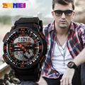 2016 SKMEI мужские Кварцевые Цифровые Часы Мужчины Спортивные Часы Relógio Masculino Мужская Мода Relojes Военная Водонепроницаемый Наручные Часы