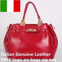 Бесплатная логотип итальянские сумки кожаные оптом из овечьей кожи для девочек красная сумка известных брендов женские сумки через плечо