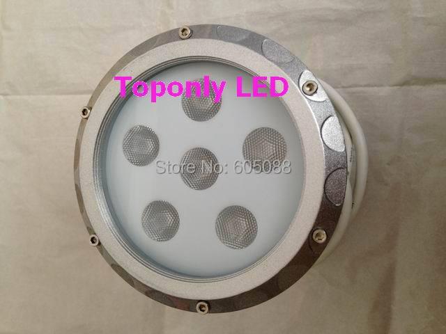IP65 vandtæt Edison rgb led wall washers 18w DC24v runde mini projektor lampe sølvfarve CE & ROHS 12stk / lot DHL gratis forsendelse
