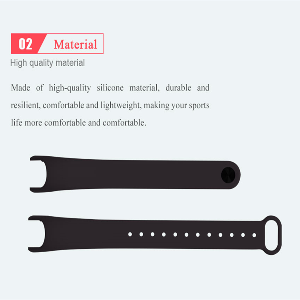 For Xiaomi Mi Band 2 Bracelet Strap Accessories Pulseira Miband 2 Replacement Silicone Wriststrap Smart Wrist Mi Band 2 Strap