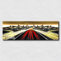 The Feeling Of Speed Canvas Cityscape Prints Picture Reproduction Wall Art For Home Decoration On Sell40cmx120cm