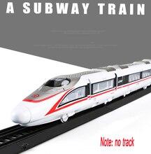 Fuxing Childrens Toy Alloy Simulation Train Model Car Subway High-Speed Rail Harmony Boy MS1812