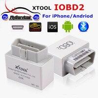 XTOOL IOBD2 Bluetooth OBD2 EOBD Авто Сканер Чтения Кодов неисправностей Для IOS и Android Автомобиля Диагностический Инструмент Bluetooth