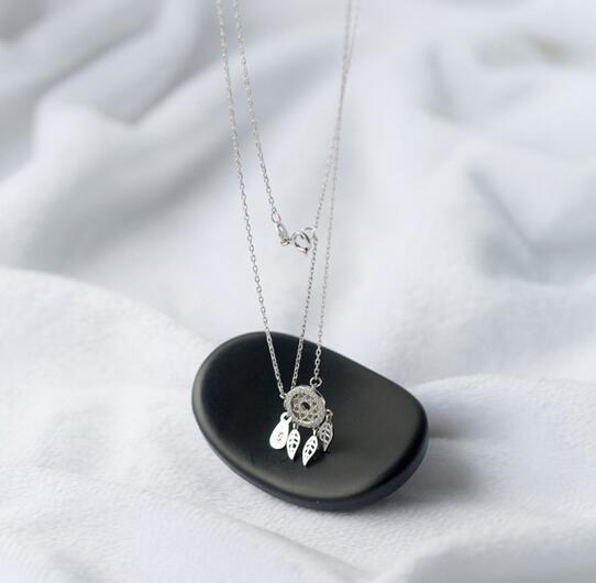 Retro Protector Real. 925 Sterling Silver Jewelry Hollow Leaf - Joyas - foto 3