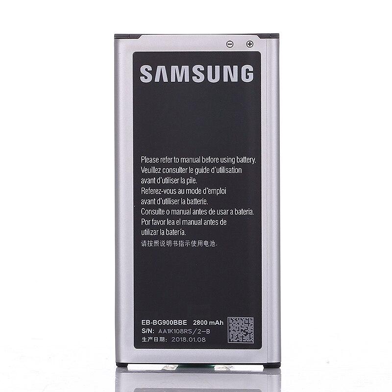 Función NFC Original batería recargable 2800 mAh para Samsung G9008V 9006 W G900FD 9006 V 9008 W S5 G900S g900F EB-BG900BBU