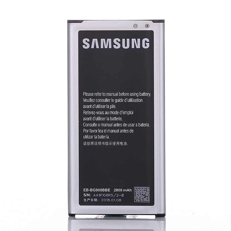 NFC Function Original Rechargeable Mobile Battery 2800mah For Samsung G9008V 9006W G900FD 9006V 9008W S5 G900S G900F EB-BG900BBU