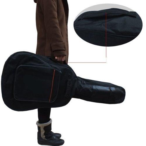 SCYL High quality Black Shoulder Guitar bag Hand Bag Case for Universal Cotton bags Guitar bass funda guitarra