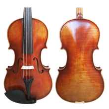 Free Shipping Antonio Stradivari Cremonese 1742 Model Violin with Canvas Case and Brazil Bow FPVN03 цена