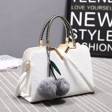 Autumn and Winter 2018 Womens Bag New Fashion Large Simple Single Shoulder Slant Ladys Capacity Handbag