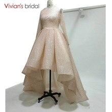 Long Sleeve Muslim Evening Dress Vivian's Bridal Prom Dress