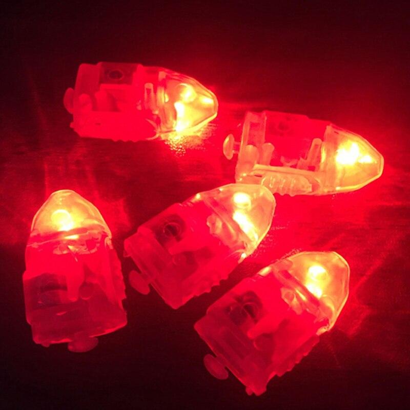 10 шт. маленький светодиодный мини-светильник, светящийся воздушный шар, без линий, светящийся фонарь для латексного бумажный шарик, фонарь s, для рождества, свадьбы, Bir - Испускаемый цвет: red