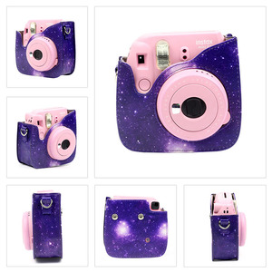 Image 3 - Carry PU Instant Camera Bag Case Cover with Shoulder Strap Camera for Fujifilm Instax Mini 8/9/8