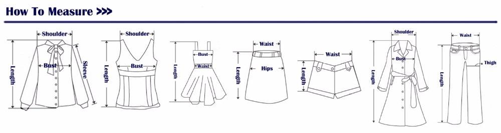 Size Chart of Long Midi Lace Dress