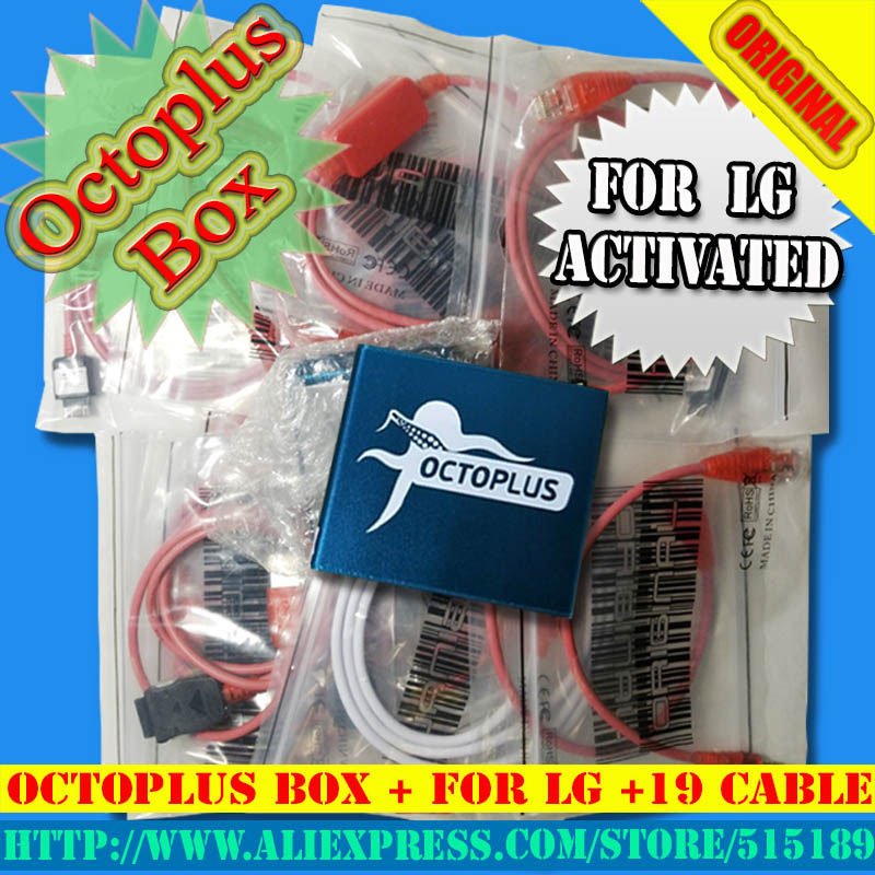 Octoplus Pro Box For Samsung for LG + eMMC/JTAG Activated