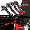 Para Ducati monster 900 620 600 400 900ss 748 accesorios de La Motocicleta cnc ajustable Alargamiento de freno Plegable palancas de embrague