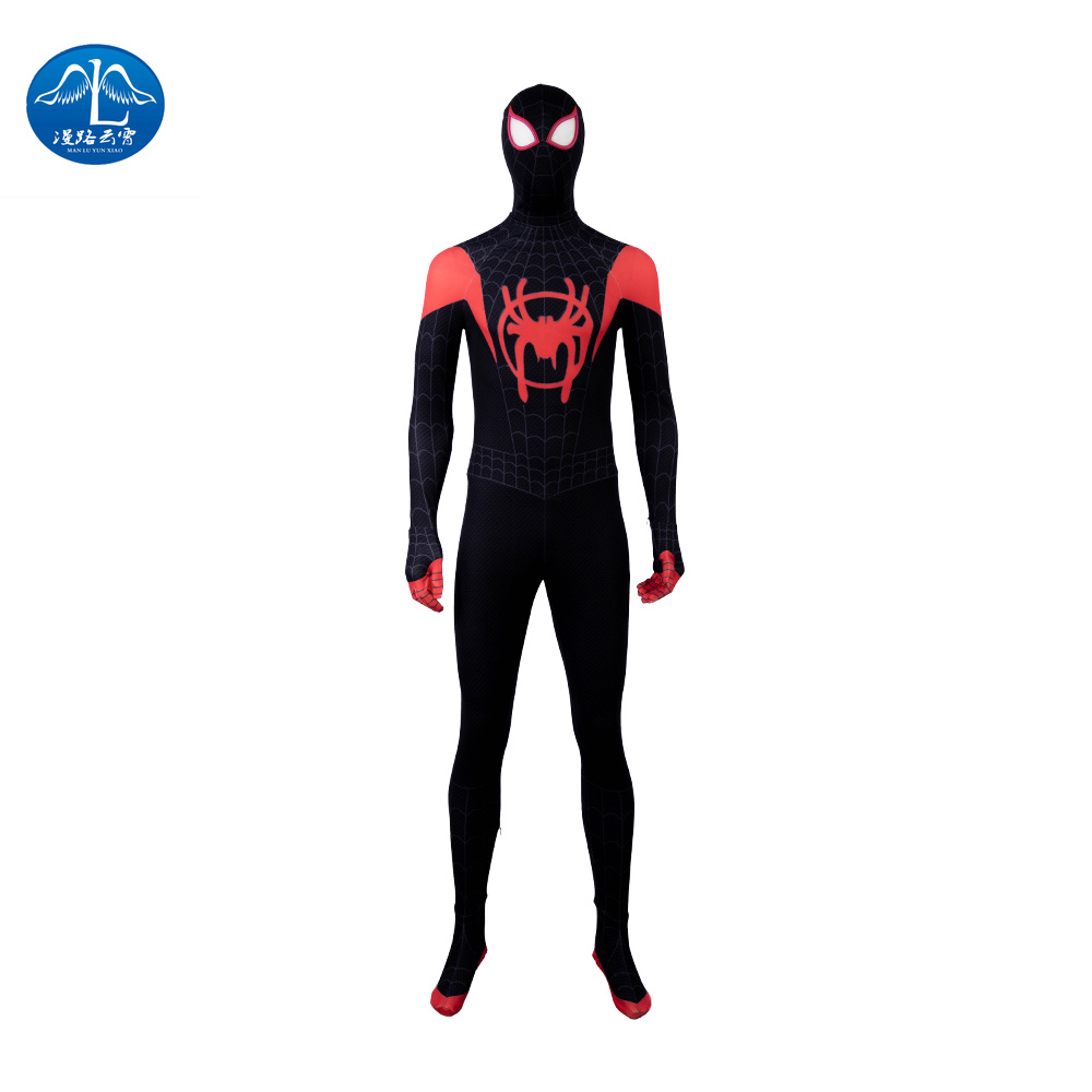MANLUYUNXIAO Spider-Man  Into The Spider-Verse  Spiderman  Costume Halloween  Dinosaur Costume  Costume Halloween  Kids Costume