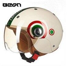 Нидерланды BEON разрешения B-103 детей мотоциклетный шлем дети половина лица мотоцикл шлемы, изготовленные из ABS Размер XL 52-54 см