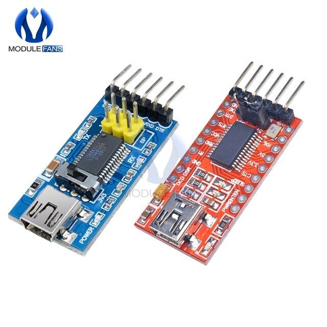 FT232RL FT232 FTDI USB 3.3V 5.5V a TTL Modulo Adattatore Seriale Porta Mini Per Arduino Pro A 232 programma di base Downloader