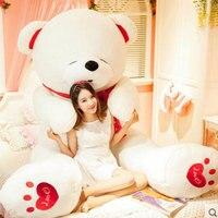 Большой плюшевый медведь 260 см (102 дюйма) oversize Тедди панда гигантский Мишка животных плюшевые игрушки куклы мягкие игрушки для детей подарок