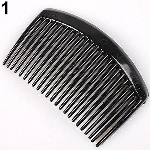 10Pcs 23 Teeth Plastic Women Girl Comb Hair Clip Clamp DIY Hair Accessories