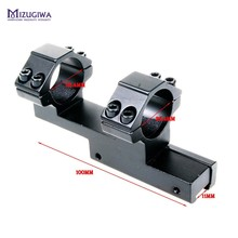 Hunting Integral 25.4mm 1″ Ring 11mm Weaver Rail Mount Flat Top Dual Ring For Rifle Laser Scope Sight Pistol Airso Caza
