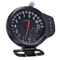 HOT 4.7 3 IN 1 Tachometer, Water Temp Gauge, Oil Pressure Auto Gauge Odometer high quality free shipping