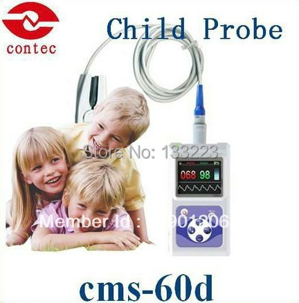 Contec  CMS60D  Child Electronic Pulse Oximeter With Software