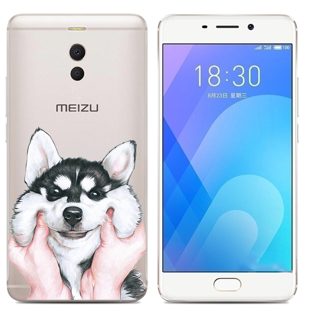 Drop Shipping TPU Soft Phone Case for Meizu M6 Note 6 5.5-inch Fashion Pattern Colorful Painted 5