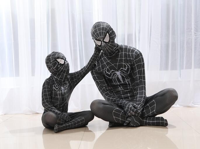 NEW men adult Child children kid Boy SPIDERMAN 3D PRINT Costume Cosplay Lycra suit Gift clothes zentai cosplay suit