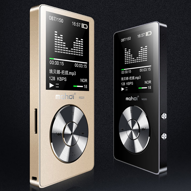 MAHDI HIFI Lossless MP3 Player 1.8inch TFT Screen Music Player Built-in Speaker 8G With FM Video E-book Recorder Clock Function