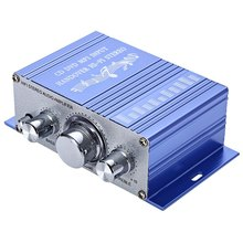 Efficient HY - 2001 Mini 2CH Hi-Fi Wired Stereo Output Power Amplifier with Volume Control Compatible with Mobile Phone MP3 PC