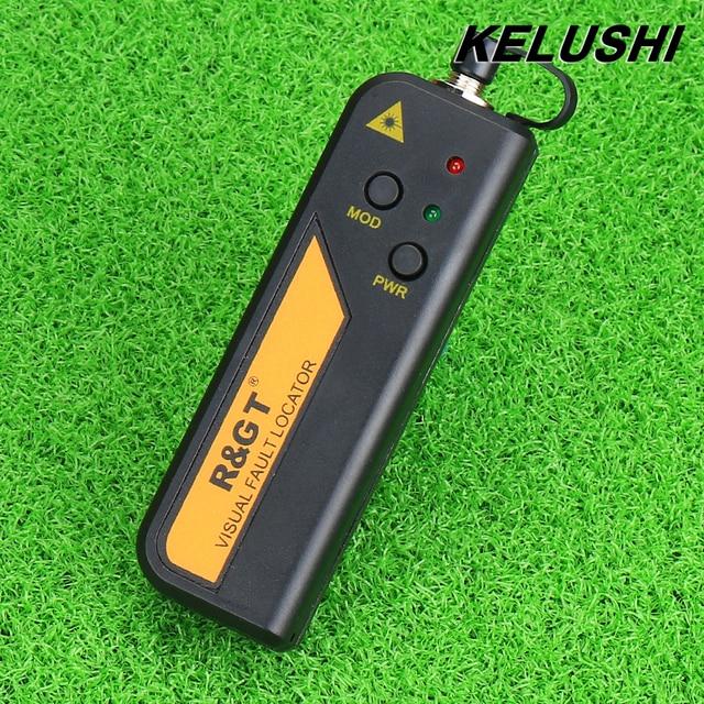 KELUSHI 1mW 3~5km 650nm Fiber Optic Visual Fault Locator Red Laser Source Cable Tester for CATV