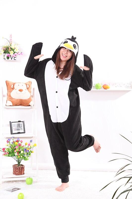 Kigurumi Penguin Black Onesies Unisex Sleepsuit Adult Pajamas Cosplay Costumes Animal Onesie Sleepwear Jumpsuit For Male Famale|cosplay costume|black onesiepajama cosplay - AliExpress