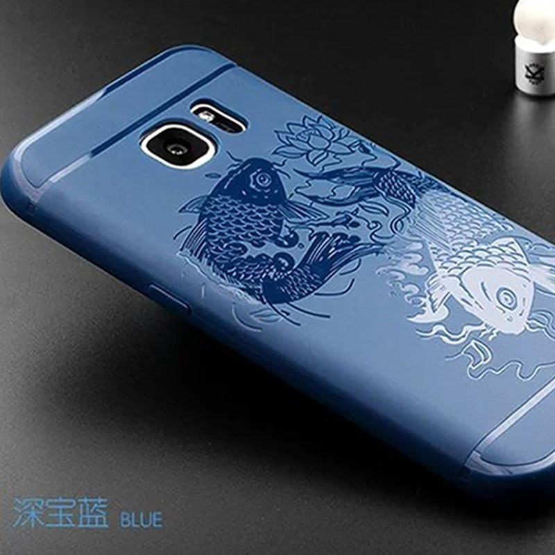 For Samsung Galaxy S 6 Case Cover For Samsung S6 Case Silicone Luxury 3D Relief Soft TPU For Coque Samsung...  samsung galaxy s6 case | Top 6 Samsung Galaxy S6 Cases! For font b Samsung b font font b Galaxy b font S 6 font b Case