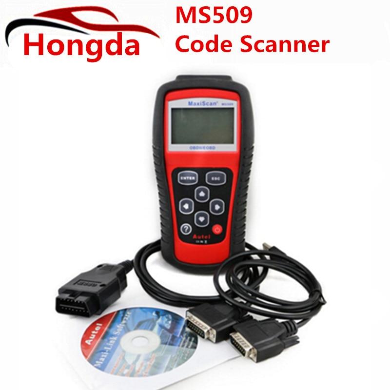 Prix pour Ms509 Obdii/eobd Lecteur de Code Autel Maxiscan Ms509 Auto Scanner Couverture (nous, asiatique et Européenne) MS 509