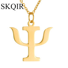 SKQIR New Women Accessories Medical Sign Nurse Pendants Necklaces Profession Charms Pendant Gold Chain Stainless Steel Necklace