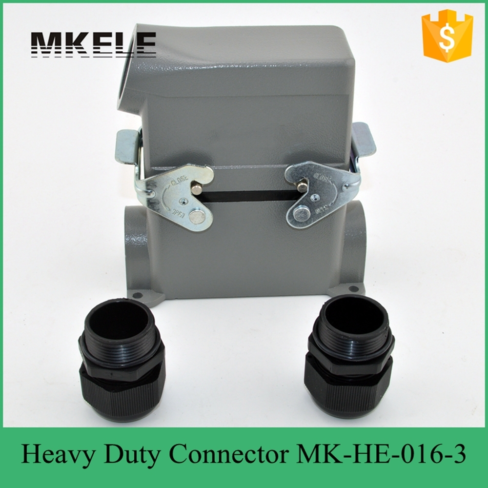 MK-HE-016-3 heavy duty universal trailer connector,heavy duty connector hdmi for outdoor hoisting machine
