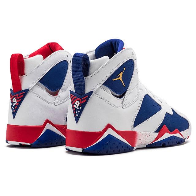sale retailer 639a5 f5215 Nike Air Jordan 7 Olympic Alternate AJ7 Joe 7 Olympic Men's Basketball  Shoes Sneakers,Original Outdoor Sports Shoes 304775 123-in Basketball Shoes  ...