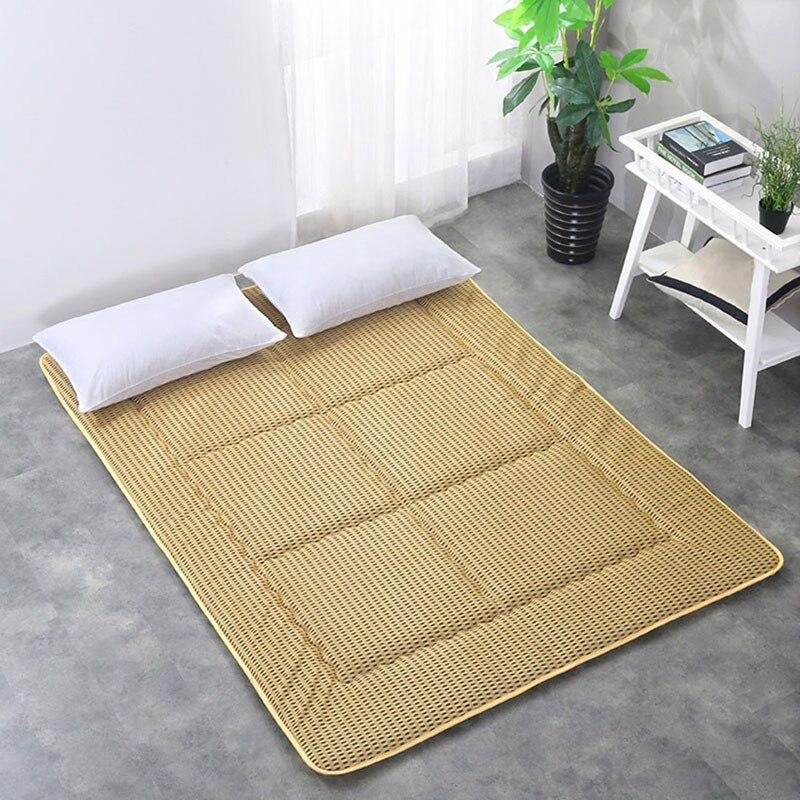 New Mattress Thin Floor Sleeping Cushion Home Skin-friendly Elastic Bedding Pad Indoor Foldable Mat Bedroom Furniture цена и фото