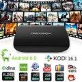 NEXBOX A1 4 К S912 Android 6.0 ОТТ TV BOX Amlogic 2 Г 16 Г Smart Media Player КОДИ 16.1 Bluetooth 4.0 Dual Band Wi-Fi 2.4 Г/5 Г