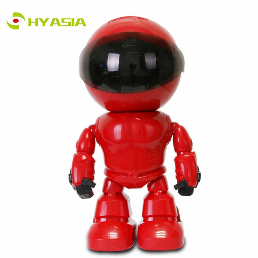 HYASIA HD cámara IP inalámbrica Robot wi-fi P2P CCTV Cámara bebé Monitor vigilancia 1080 P Red de visión nocturna CCTV dos -Audio