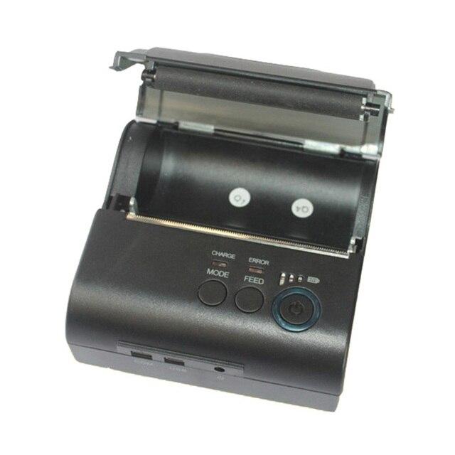 ZJ POS 8001LD с Интерфейсом USB мини 58 мм Термопринтер Билет Билл Принтера Портативный 80 мм Bluetooth2.0 4.0