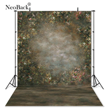 NeoBackคลาสสิกทาสีดูScenic Vintageสวนดอกไม้การถ่ายภาพฉากหลังProfessional Studioภาพพื้นหลัง