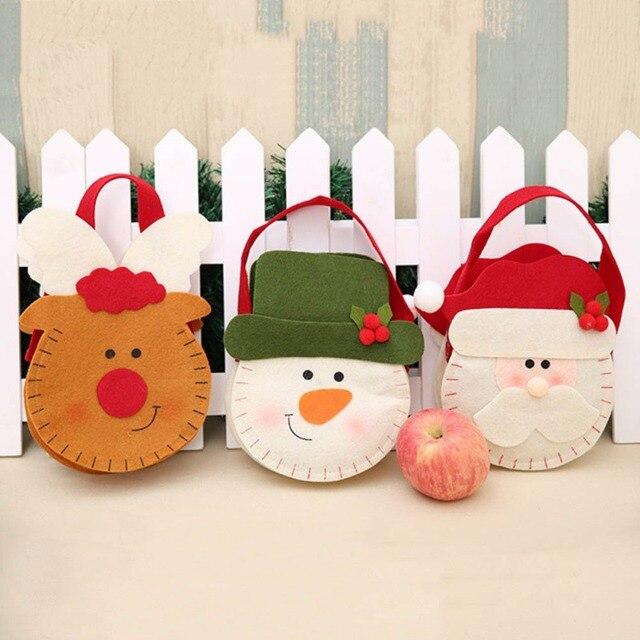 Home Fashion Christmas Gifts Bag Candy Bag Christmas Apple Gift Bag ...