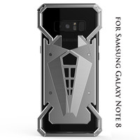 R JUST For Samsung Galaxy Note8 Aluminum Metal Bumper Case For Samsung Note 8 Shockproof Mobile