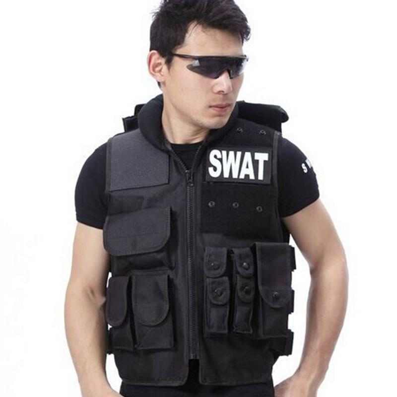 Airsoft Tactical Vest Swat Type Modular Tactical Combat Vest Military Tactical Gear CS Field Equipment Swat Protective Equipment transformers tactical vest airsoft paintball vest body armor training cs field protection equipment tactical gear the housing