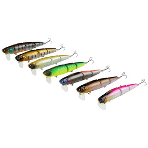 Image 2 - 1 Pcs/box 3 Section Topwater Fishing Lure 20g 11cm Minnow Crankbaits Fishing Tackle Wobbler Hard Bait isca artificial