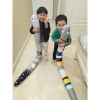 Baby Toys Newborn Baby Pillows Infant Appease Dolls Boy Girls Kawaii Snake Toys Brinque Infantil Cama