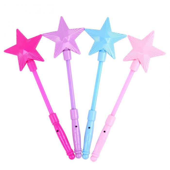 fairi; Волшебная звезда палочка; Волшебная звезда палочка; Материал:: пластик;